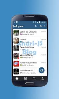 BBM Instagram V2 - BBM Mod 2.11.0.16 Tema Instagram