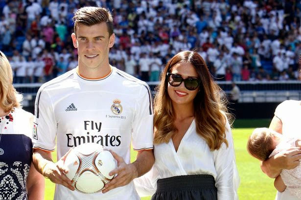 Wife of Gareth Bale pictures