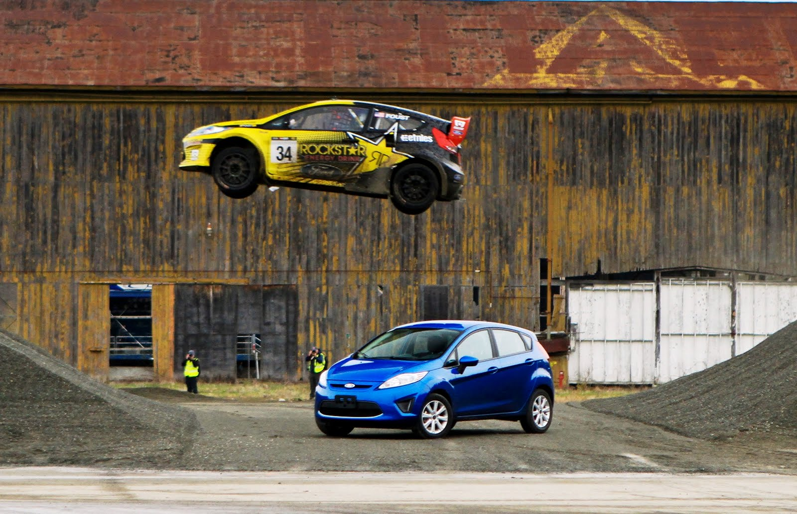Tanners Foust Ford Fiesta Rally Car