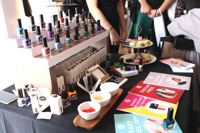#BLFW 2015 Bloggers Love Bloggers Hangout Little Ondine Nail varnishes