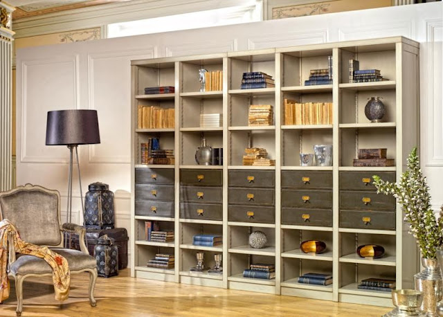 Blog de mbar muebles salones for Librerias clasicas para salon