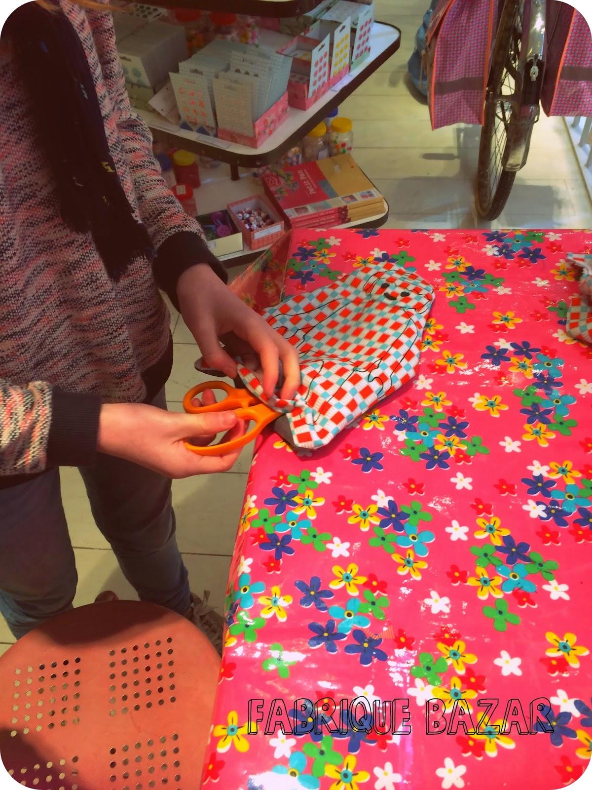 cours de couture enfant Toulouse Fabrique Bazar blog creatif