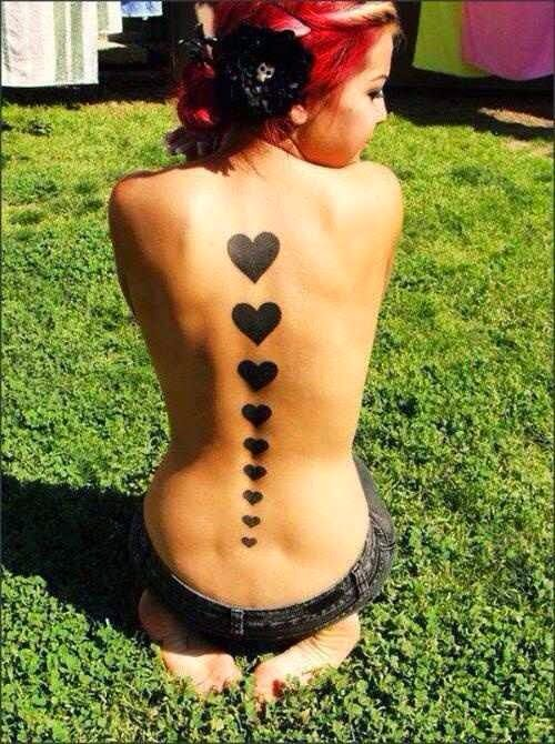 ♥ ♫ ♥ Heart Tattoos  ♥ ♫ ♥