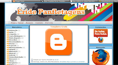 Template do Éride Planfetagens Blogger