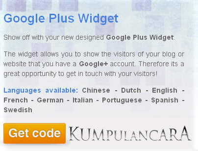 Cara Pasang Widget Google Plus Di Blogger img2