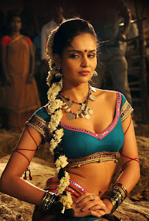 Nathalia Kaur Amazing Beauty Item Song movie Addirabanna Choli Ghagra