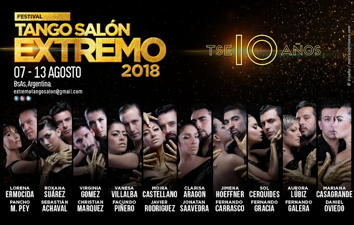 TANGO SALÓN EXTREMO - 10 AÑOS