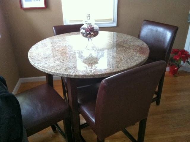 42 inch granite table