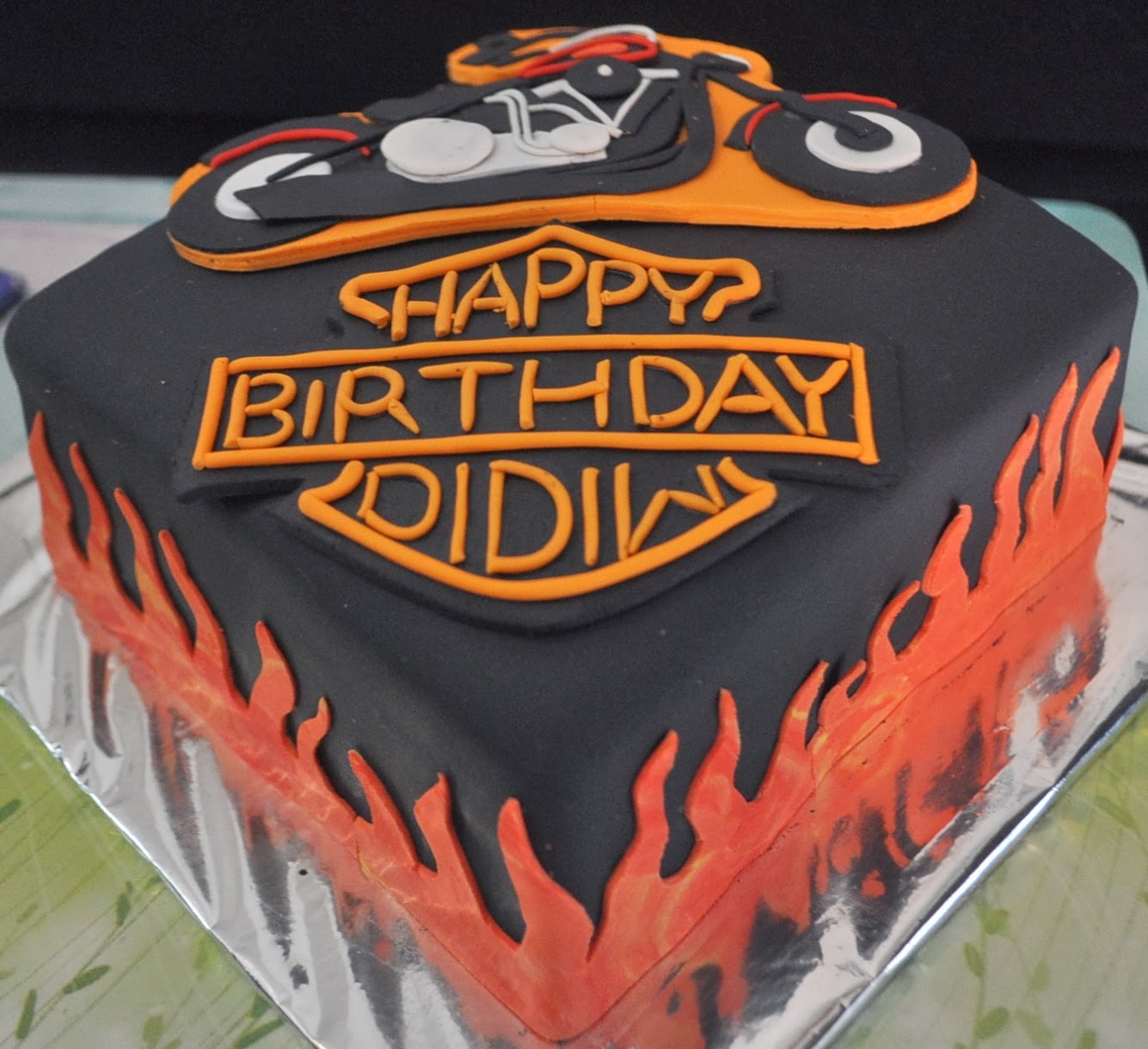 Momatoye Harley Davidson Cake Mama Ulfa