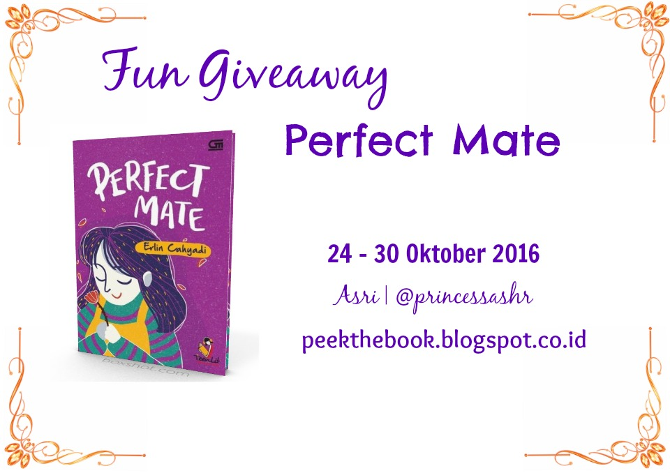 Giveaway Perfect Mate - Erlin Cahyadi