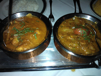 Chicken Ceylon and Chicken Karahi