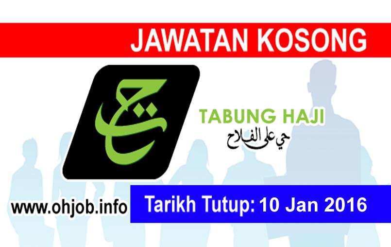 Jawatan Kerja Kosong Lembaga Tabung Haji (TH) logo www.ohjob.info januari 2016