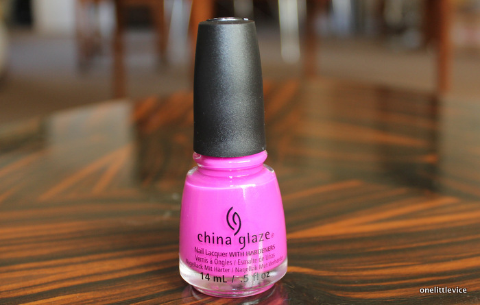 beauty blog nail polish haul: discount china glaze polish haul