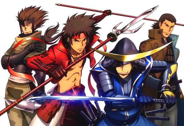 Alcuni tra i personaggi principali di Sengoku Basara
