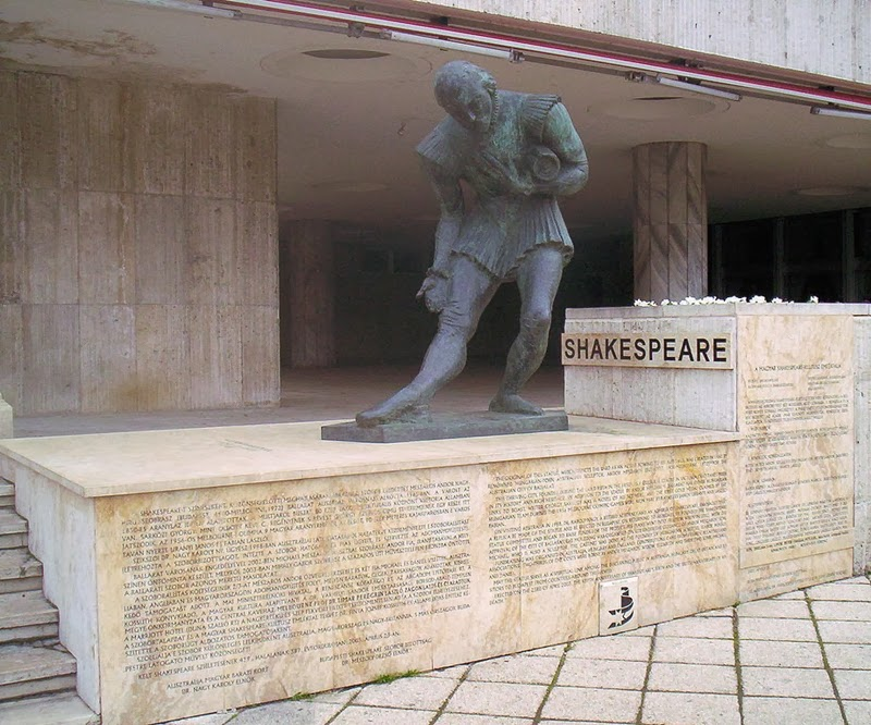 Statua di Shakespeare - Budapest