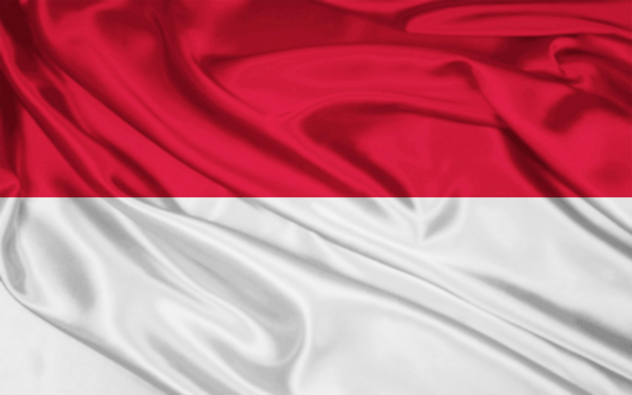 Flag Wallpaepr of Indonesia