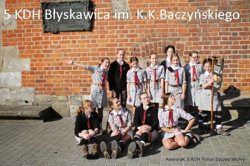 """5 KDH """"Błyskawica"""" im. K.K. Baczyńskiego"""