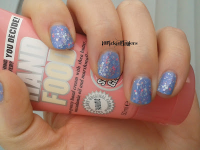 Glitzology Cotton Candy & Color Club Hydrangea Kiss swatches