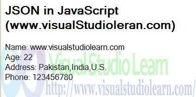 Json JavaScript