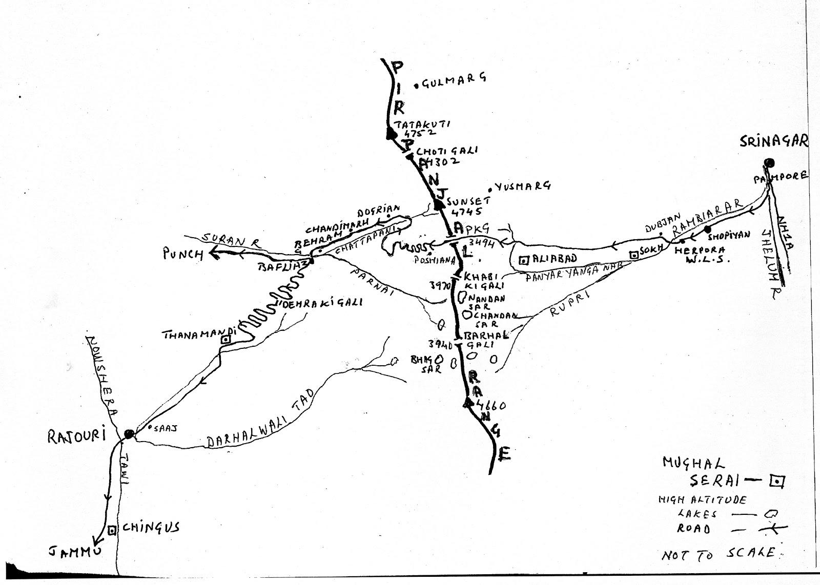 Pir Panjal Route