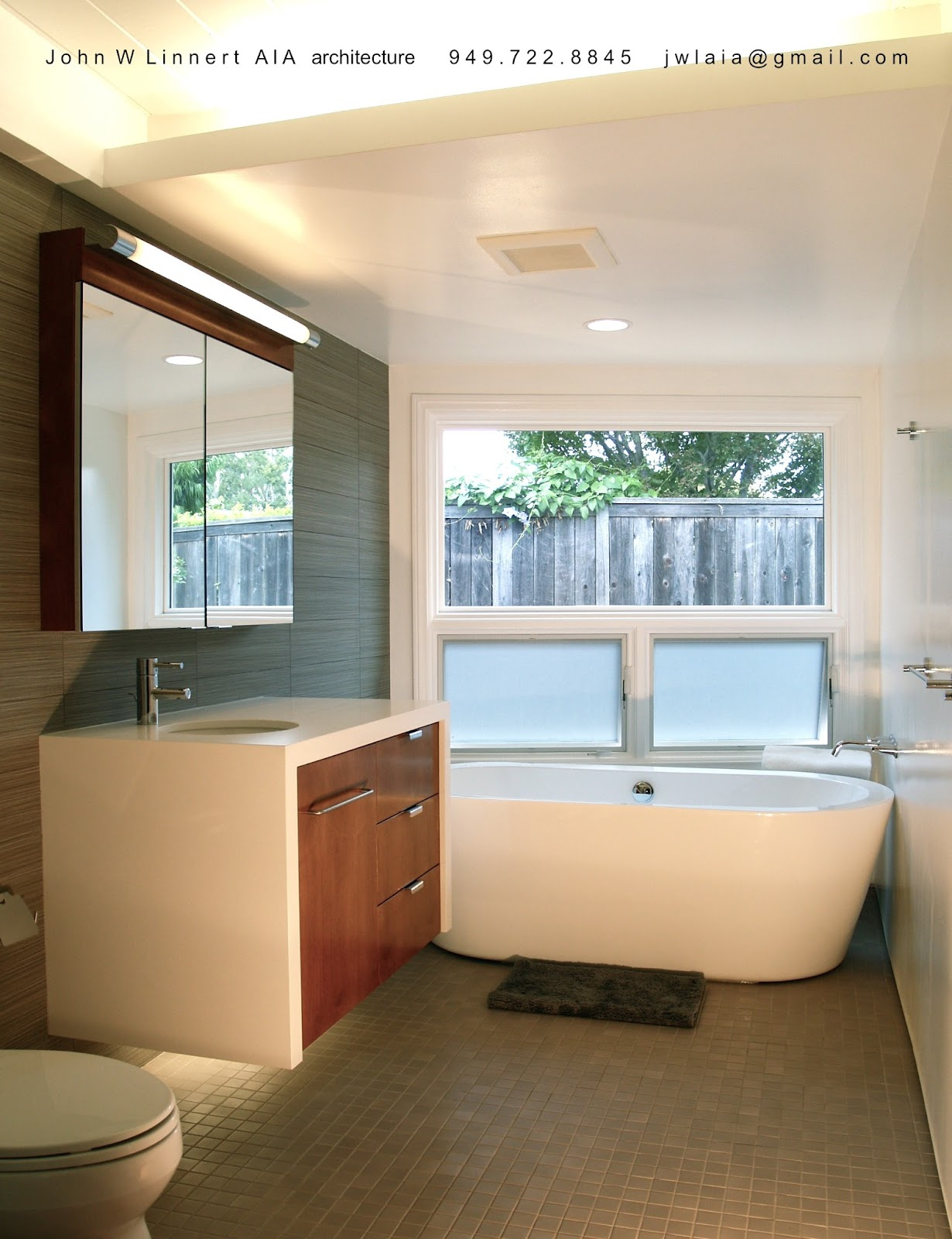 artsy after bathroom remodel pictures | mid-century modern ...