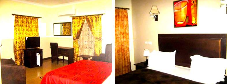 Trafford Hotel, Gwarinpa room