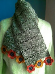 Free Pattern for Simple Rhythm Scarf
