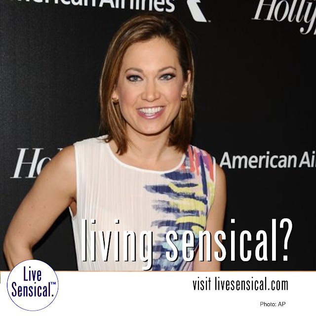 Ginger Zee - Living Sensical? Visit livesensical.com