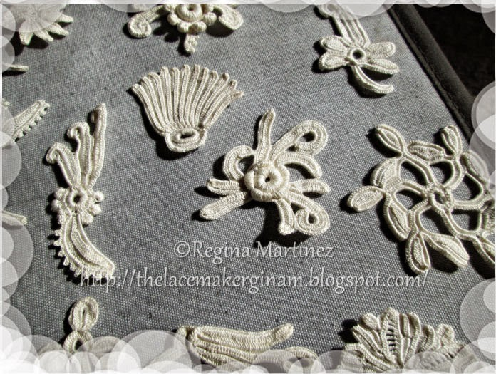 The Lace Maker Motifs For Irish Crochet Capelet