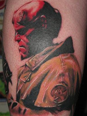 Tatuaje Hellboy