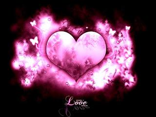 corazon rosado