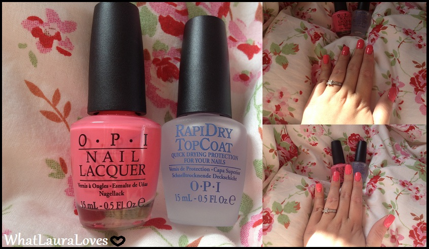 Opi Nail Polish Top Coat Review - To Bend Light
