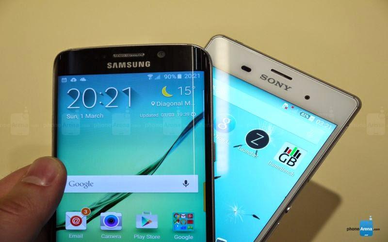 Adu Spesifikasi Galaxy S6 versus Sony Xperia Z3