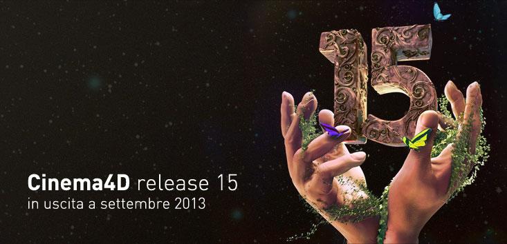 Cinema4D release 15 in uscita a settembre 2013