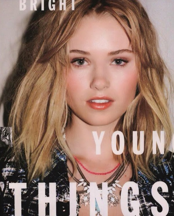 Ginny Gardner - Nylon Magazine Young Hollywood Issue 2014