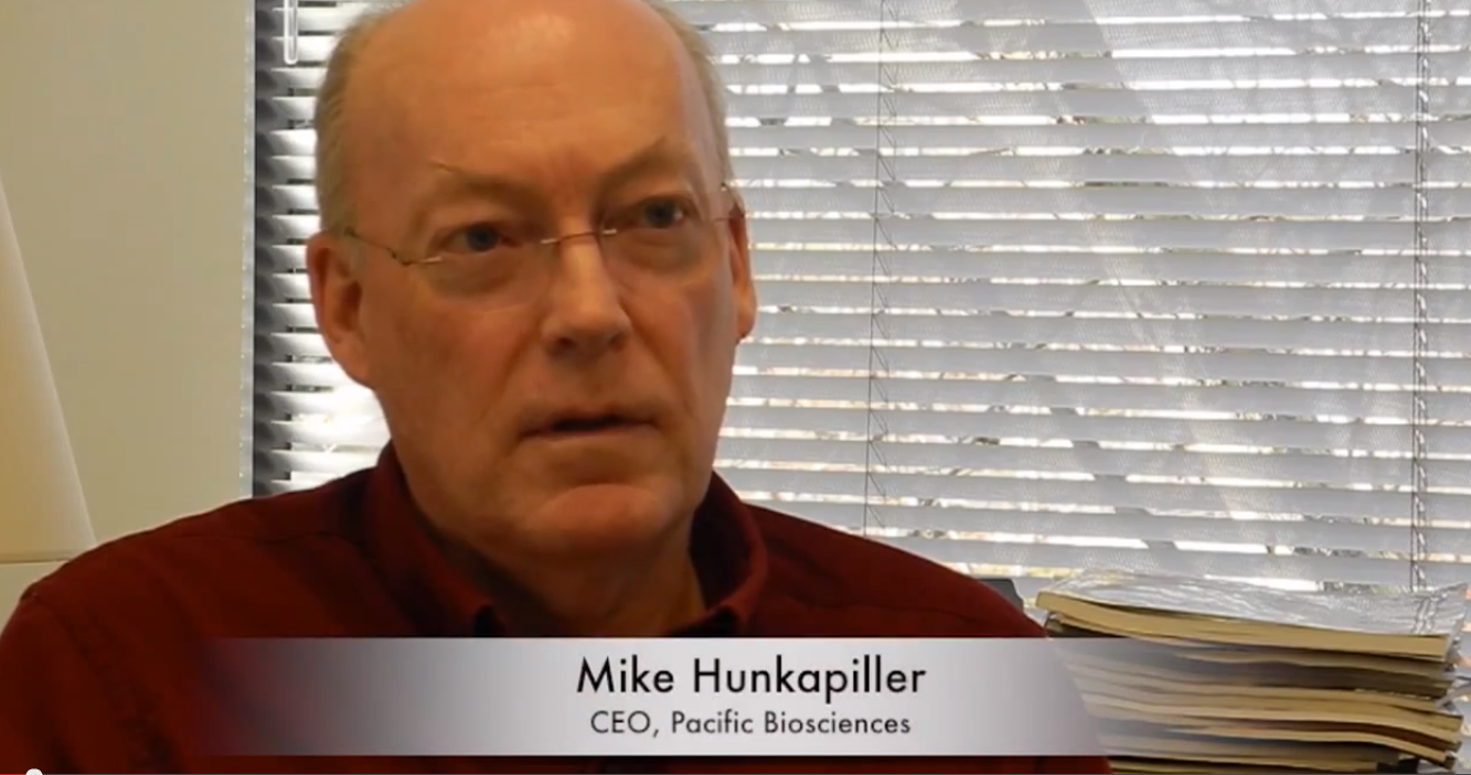 mendelspod interview mike hunkapiller ceo of pacific here are a few highlights from the interview