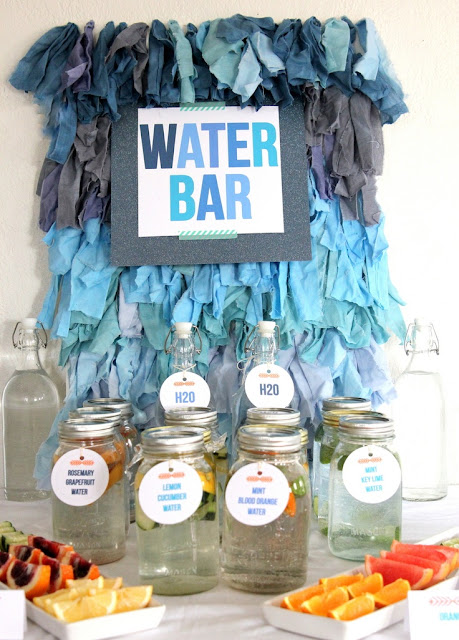 summer fiestas Water Bar party
