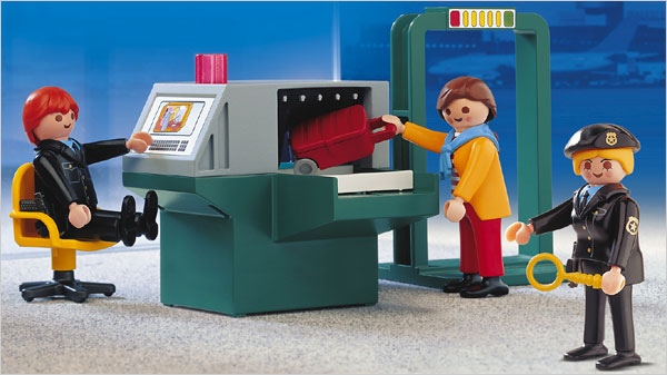 'Security Check Point', Playmobil, Available through Amazon.com, $155