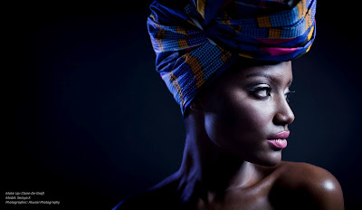 African American Fashion Models Stock Pictures 2