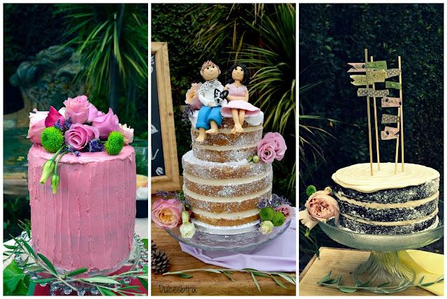 Mesa de tartas de Elena y Hugo-Dulcesbtrix