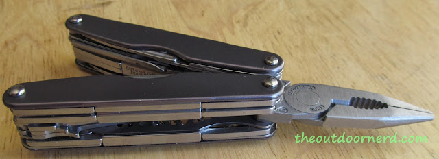 Leatherman Juice XE6 Multi-Tool: Opened Top View