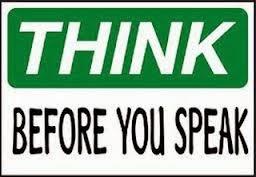 Berhati-hatilah Dalam Berbicara dan Bertindak