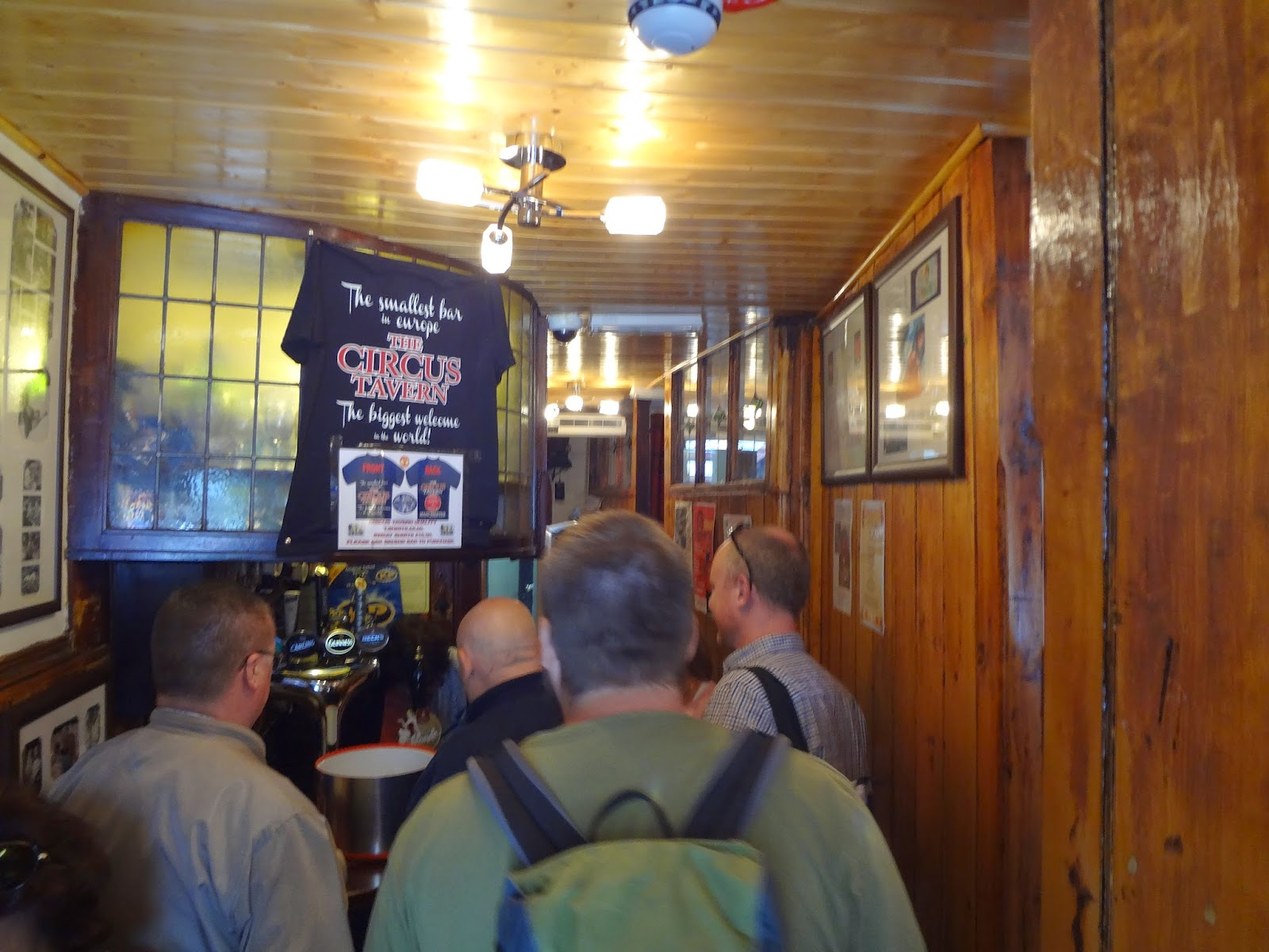 Smallest Pub in Europe