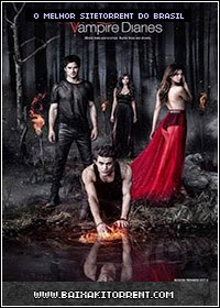 Capa Baixar The Vampire Diaries 5ª Temporada Dublado   Torrent Baixaki Download