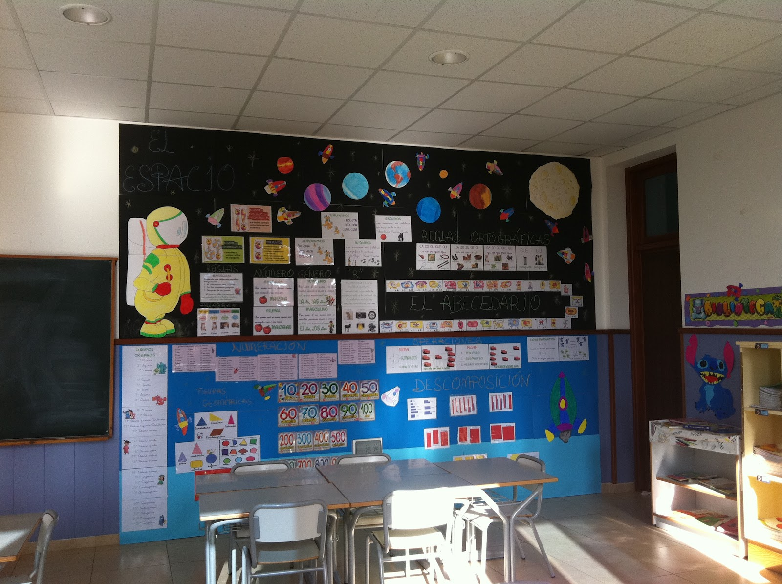 Decoraci n aula primaria imagui for Decoracion aula primaria