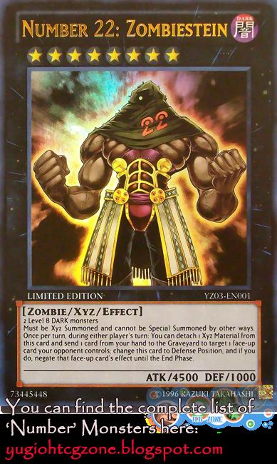 Numero 22: Zombiestein - Number 22: Zombiestein No.ナンバーズ22 不フ乱ラン健