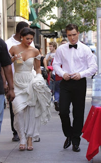Ed Westwick & His Girlfriend Jessica Szohr
