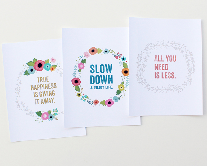 Kimberly Church | Floral + Inspirational Prints