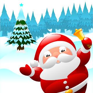 漫画タッチのクリスマス飾りと背景 beautiful christmas ornaments イラスト素材4