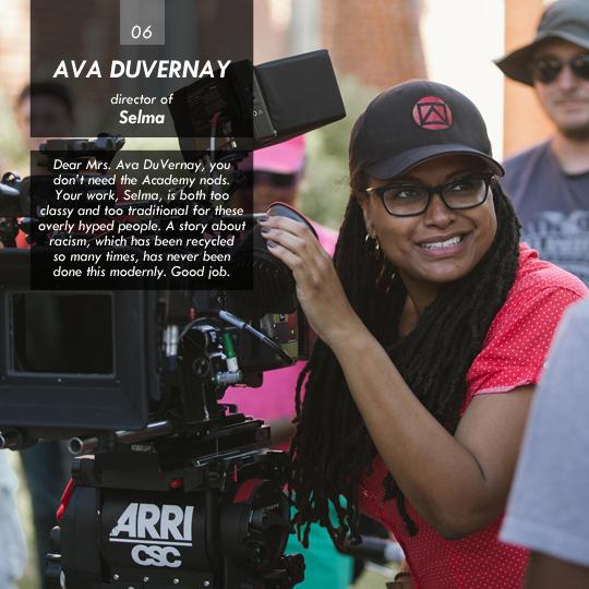 Ava DuVernay (Selma)
